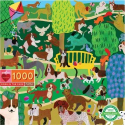 Eeboo 1000 pc Puzzle - Dogs In The Park
