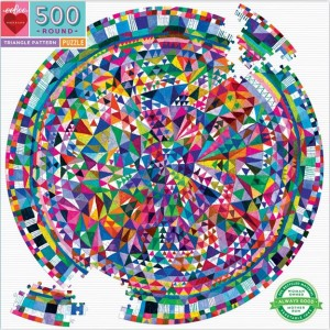 Eeboo 500 pc Puzzle - Triangle Pattern