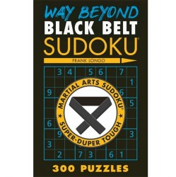 Puzzle Book - Sudoku - Way Beyond Black Belt