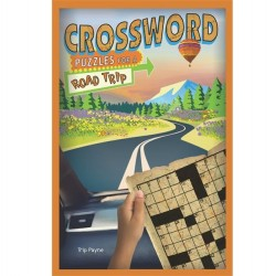 Puzzle Book for a Road Trip - Crossword