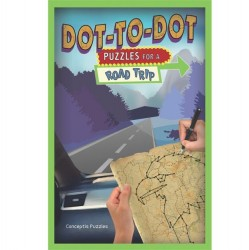 Puzzle Book for a Road Trip - Dot-to-Dot