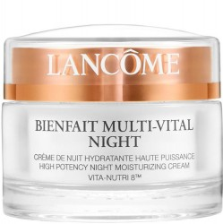 Lancôme Bienfait Multi-Vital Night Highly Potent Overnight Face Moisturizer