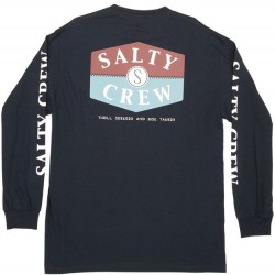Salty Crew Long Sleeve T-Shirt - Navy