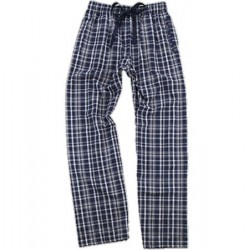 Flannel Pant - Navy/White