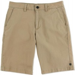 Boys 8 to 20 O'Neill Hybrid Stretch Chino Shorts - Khaki