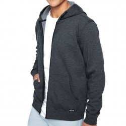 Hurley Therma Protect Full Zip Hooded Sweatshirt - Black Heather