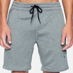 Hurley Dri-Fit Fleece Shorts - Cool Grey