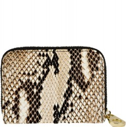 Zip Around Armoured Wallet - Snakeskin
