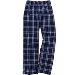 Boys 8 to 20 Flannel Pant - Navy/Columbia