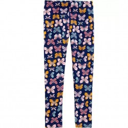 4 to 6X Girls Carters Knit Butterfly Print Leggings