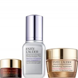 Estée Lauder 3 pc Set - Smooth & Glow For Refined, Radiant-Looking Skin (Value $123.00)