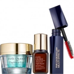 Estée Lauder 3 pc Set - Beautiful Eyes Protect + Hydrate For Healthy, Youthful-Looking Skin (Value $69.00)