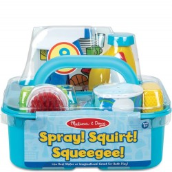 Spray Squirt Squeegee Play Set