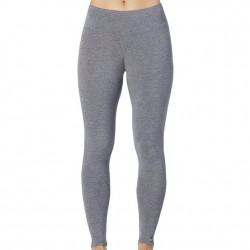 Cuddl Duds Softwear With Stretch Wide Waistband Legging - Charcoal
