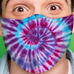 Adult Face Mask - Tie Dye