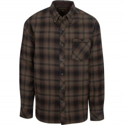 North River Flannel Plaid Shirt - Ivy Green