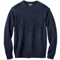 Pendleton Washable Wool Sweater - Indigo Heather