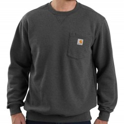 Carhartt Crewneck Sweatshirt with Pocket - Carbon Heather