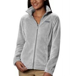 Columbia Benton Springs Fleece Jacket - Cirrus Grey