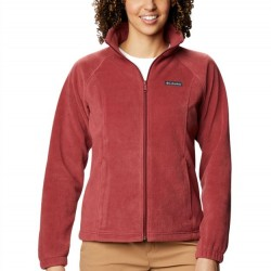 Columbia Benton Springs Fleece Jacket - Marsala Red