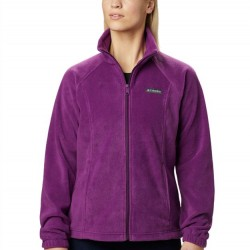 Columbia Benton Springs Fleece Jacket - Plum