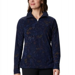 Columbia Glacial Fleece Zip Pullover - Dark Nocturnal Dotty Floral