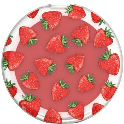 Popsockets Strawberry Fields PopGrip with Built-In Lip Balm