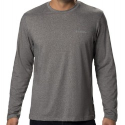 Columbia Long Sleeve T-Shirt - Charcoal Heather