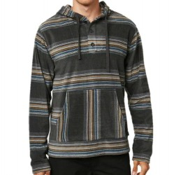 O'Neill Super Fleece Poncho - Graphite Stripe