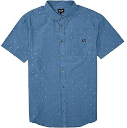 Boys 8 to 20 Billabong Short Sleeve Shirt Shirt - Blue