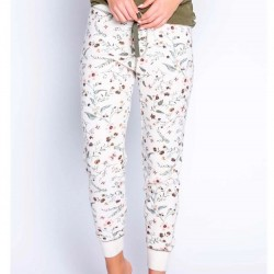 PJ Salvage Wild Floral - Thermal Jogger