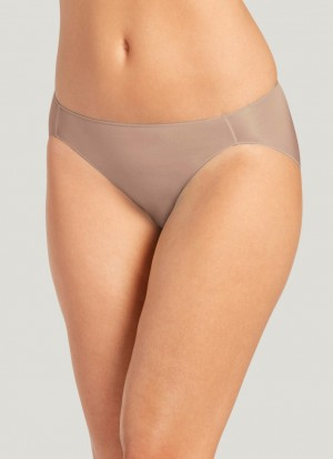 Jockey No Panty Line Promise Nylon Blend Hi-Cut Brief Style #1338 - Light