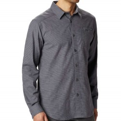Columbia Flannel Shirt - Grey Houndstooth