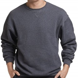 Russell Athletic Crewneck Sweatshirt - Black Heather