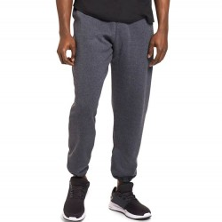 Russell Athletic Dri-Power Performance Pocketed Sweatpant Elastic Bottom - Black Heather