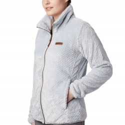 Columbia Fire Side II Sherpa Fleece Zip Jacket - Cirrus Grey