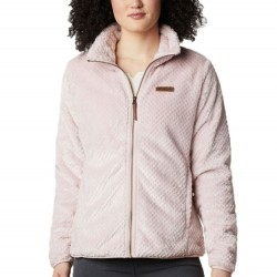 Columbia Fire Side II Sherpa Fleece Zip Jacket - Mineral Pink