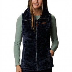 Columbia Fire Side II Sherpa Fleece Vest - Dark Nocturnal