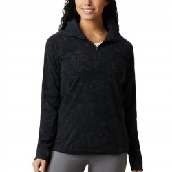 Columbia Glacial Fleece Zip Pullover - Black Dotty Floral