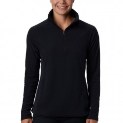 Columbia Glacial Fleece Zip Pullover - Black Quilt Pattern