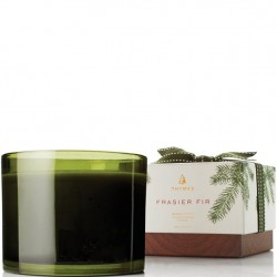 Thymes Frasier Fir Round 3-Wick Candle