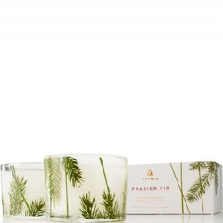 Thymes Frasier Fir Boxed Candle Set