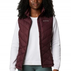 Columbia Heavenly Omni Heat Quilted Zip Vest - Malbec