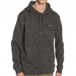 Quiksilver Hooded Sweatshirt - Dark Grey Heather