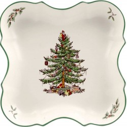 "SPODE ""Christmas Tree"" Devonia Tray"
