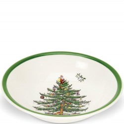 "SPODE ""Christmas Tree"" Ascot Cereal Bowl"