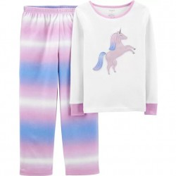 4 to 6X Girls Carters 2-Piece Fleece Pajama Set