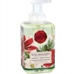 Michel Design Works Merry Christmas Foaming Soap