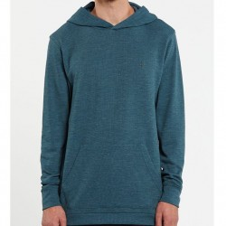 Volcom Lightweight Thermal Hooded Pullover - Blue