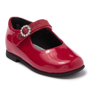 Rachel Shoes Lil Millie - Toddler - Red Patent